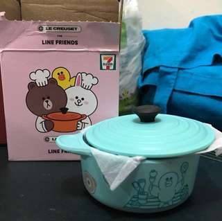 7-11 Le Creuset 🙆🏻x Line Friends 🐻🐰圓形鍋