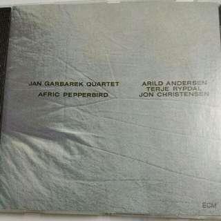 Music CD: Jan Garbarek Quartet–Afric Pepperbird - ECM Records