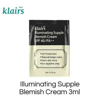 Dear Klairs Illuminating Supple Blemish Cream 3ml
