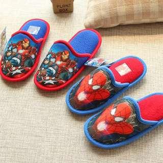 Little House Slipper - VBG212  Size 30/31 - sole length 18cm Size 32/33 - sole length 19.5cm Size 34/35 - sole length 20.5cm size 36/37 - sole length 22cm  Design: Spider-Man, Avenger