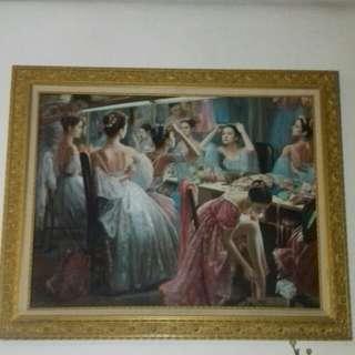 Lukisan cantik