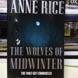 Novel the Wolves of Midwinter by Anne Rice