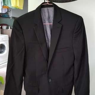 Topman Black Blazer