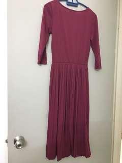 ASOS Long Sleeve Maxi Dress
