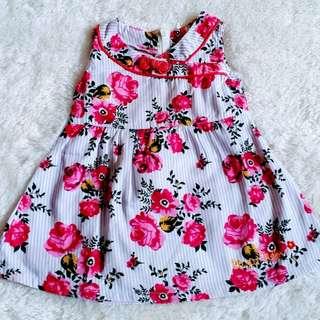 PiNGU Dress Anak Bayi Ceongsam Batik merah Shanghai imlek