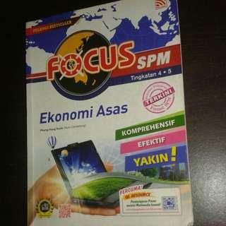 FOCUS SPM (Ekonomi Asas)