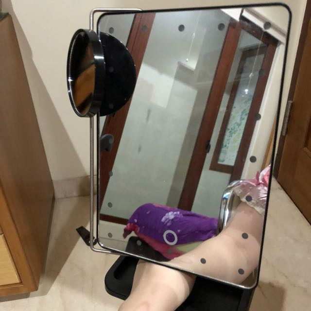 20 led mirror / kaca untuk make up