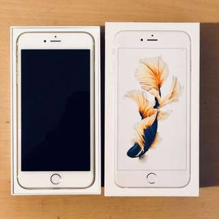 I phone 6S PLUS 128gb (gold) ORIGINAL