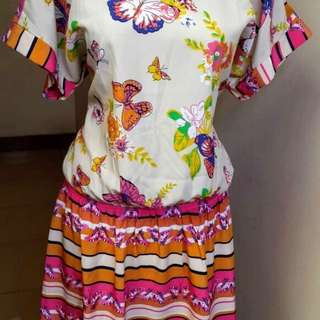 Dress SOLEMIO Original Branded Import Authentic Baju Wanita Cewek