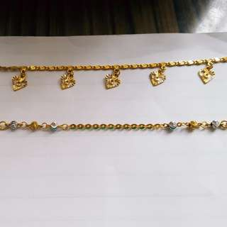 916 bracelets @ current gold price