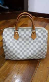 SPEEDY 30 Damier Azur Canvas