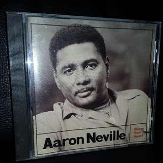 English CD Aaron Neville made in usa