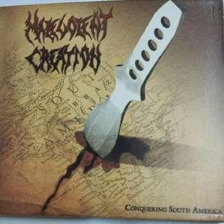 Music CD (Metal): Malevolent Creation–Conquering South America - Legendary U.S. Death Metal, Thrash Metal Band - Live Album