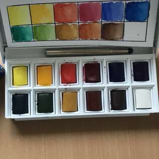 Winsor and Newton Watercolor Cotman