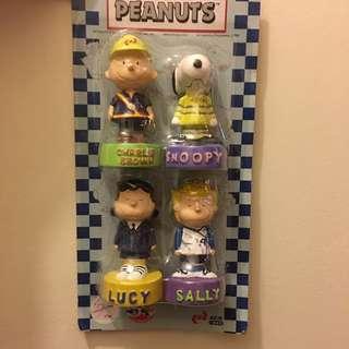 KCR Peanuts Snoopy figure 史路比系列模型公仔