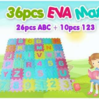 Baby Playmat abc + 123