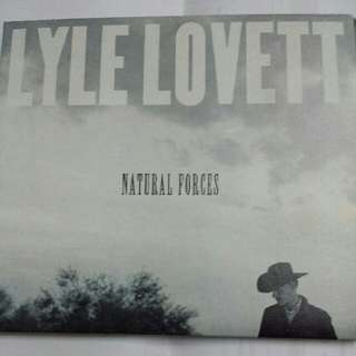 Music CD (Country): Lyle Lovett–Natural Forces