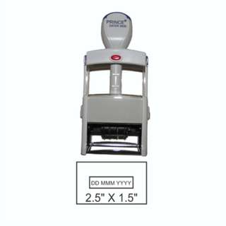 Date Stamp Customized Big - Self-inking adjustable dater stamp