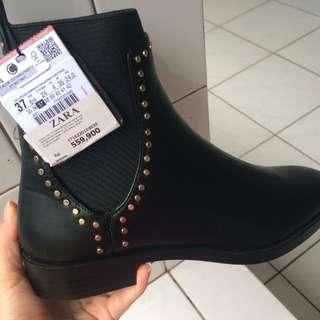 Sepatu ZARA size37 Black Original Branded