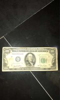 100 OLD USD NOTE