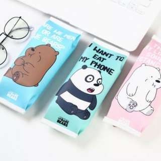 We Bare Bear pencil case