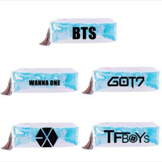 BTS/ EXO/ Wanna One/ GOT7/ TF BOYS Pencil Case