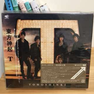 日版 東方神起 JYJ T 初回限定盤 含允浩小卡