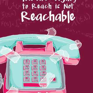 Ebook : The Number You Are Trying To Reach Is Not Reachable by Andara Kirana