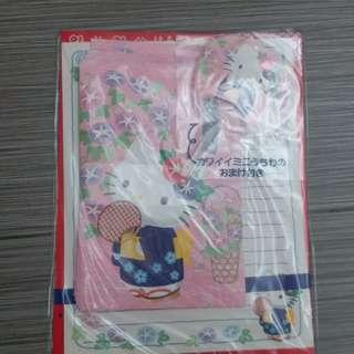 信封信紙set唔知有幾張淨免問