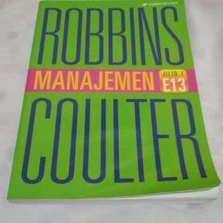 Pengantar manajemen robbin coulter (erlangga)