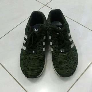 Adidas ZX Flux Torsion Olive Green [Original second berkualitas]