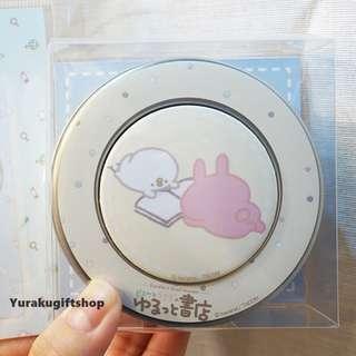 日本書店限定 兔兔 P助 磁石貼 鐵盒糖 KANAHEI