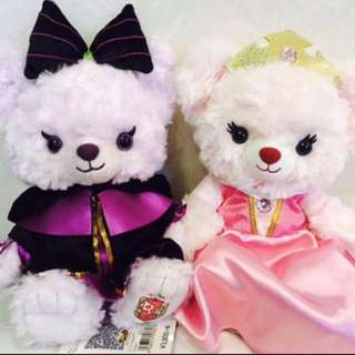 絕版 Unibearsity 大學熊 睡公主與黑魔后