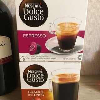 Nescafé Dolce Gusto (Espresso & Grande Intenso)