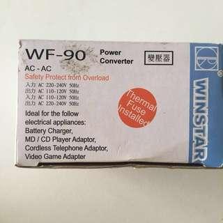 Winstar WF 90 Power Converter 220 -240 Volt brandnew unpacked