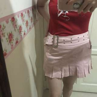 Body and soul pink skirt