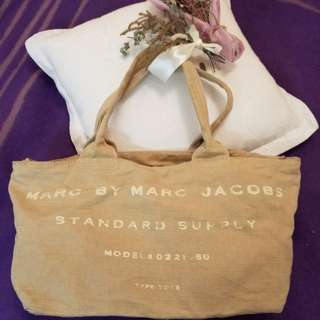 🌿MARC BY MARC JACOBS tote bag 😍厚料帆布袋