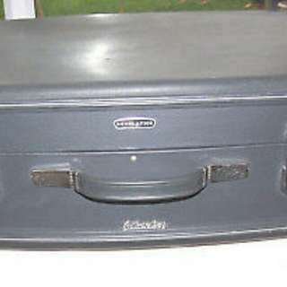 vintage revelation silverline suitcase