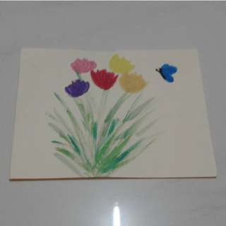 Brand new handmade painted greeting cards for sale