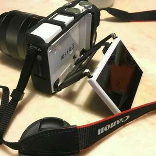 Eos M3 9.5成新 盒裝 基本鏡 相機包