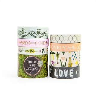 Botanical Bliss Washi Tapes by Craft Smart