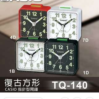 🎦🎦🎦6折全新行貨卡西歐行針旅行鬧鐘-40% Off Brand New Original Casio analog Travellers Alarm Clock