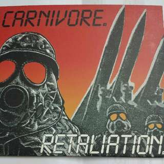 Music CD (Metal): Carnivore–Retaliation - Thrash Metal, Hardcore - Metal Mind Productions Ltd Edition Reissue 2008