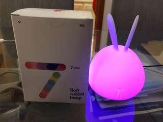 七色LED 兔仔燈