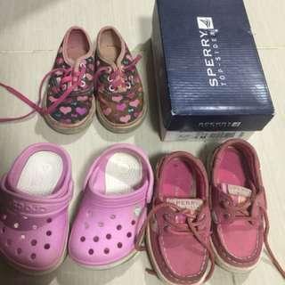 Sperry/crocs/vans authentic shoes