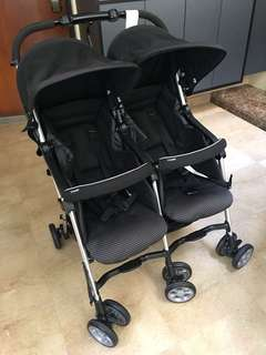 Combi Twin Stroller