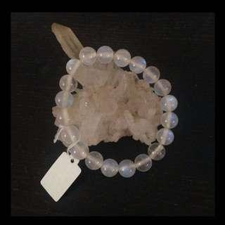 水晶小店 - 藍光月亮石