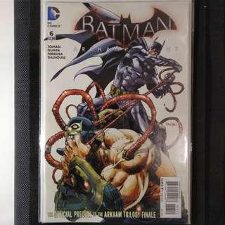Comic Book Batman Arkham Knight #6