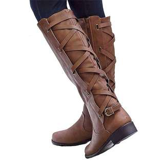 Knee High Riding Boots (Brand New)