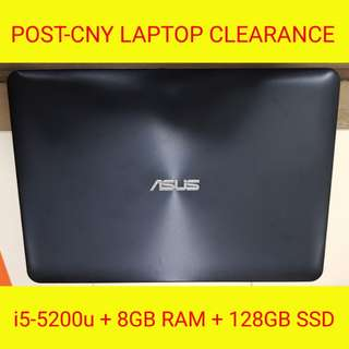 CHEAP ASUS LAPTOP WITH FREE 128GB SSD